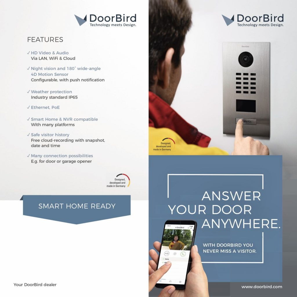 DoorBird Intercom Services result